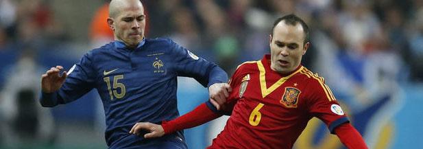 Francia-España, emitido por Telecinco