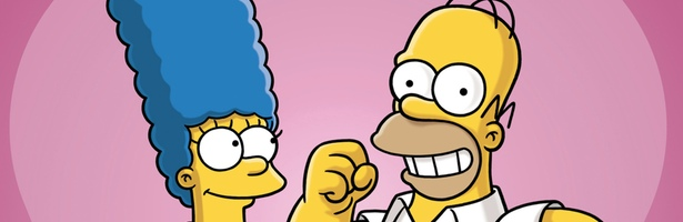 Marge y Homer Simpson de 'Los Simpson'