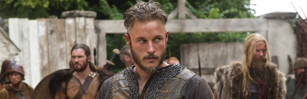 El protagonista de la serie, Ragnar Lothbrok