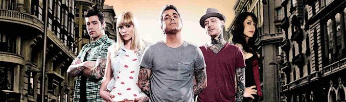 Leo Millares y su equipo de tatuadores en 'Madrid Ink'