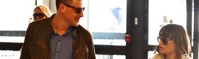 Cory Monteith y Lea Michele fueron vistos el viernes por la mañana en el Aeropuerto de Los Ángeles