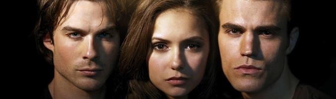 El trío protagonista de 'The Vampire Diaries'