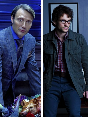 Mads Mikkelsen y Hugh Dancy