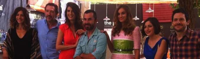 El reparto principal de 'Frágiles' en la presentación de su segunda temporada