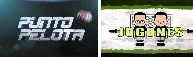 Logos de 'Punto Pelota' y 'Futboleros'