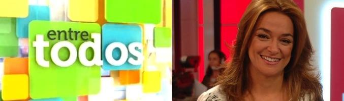 Toñi Moreno, presentadora de 'Entre todos'