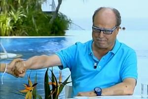 el doctor Luis Gutierrez despidiéndose de 'La mañana de La 1'