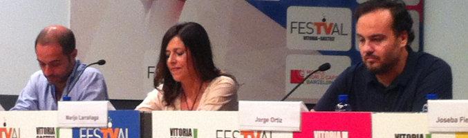 Presentación de 'España en serie' en el FesTVal de Vitoria