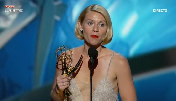 Claire Danes, mejor actriz de drama