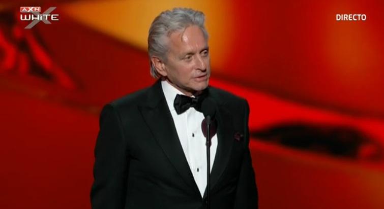 Michael Douglas, mejor actor de telefilm