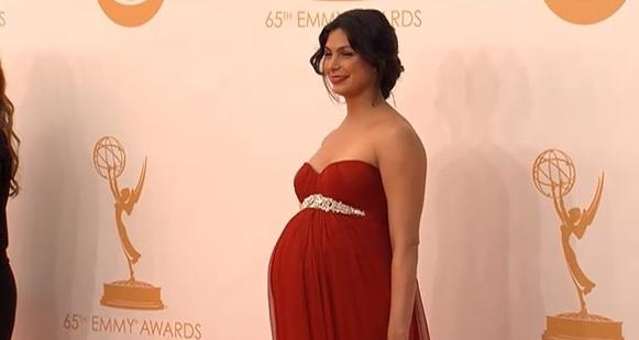 Morena Baccarin en los Emmy 2013