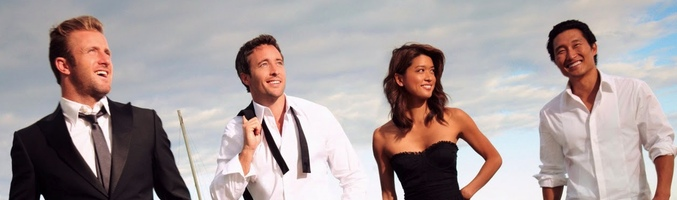 Los protagonistas de 'Hawaii Five-0'