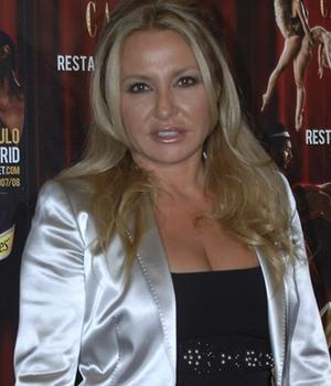 Cristina Tárrega en una fiesta de inauguración