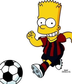 Bart Simpson Se Pone La Camiseta Del Bar  A En El Especial De Fox De