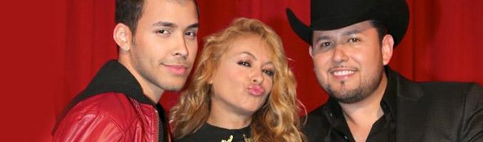Prince Royce, Paulina Rubio y Roberto Tapia, jurado de la primera edición de 'La Voz Kids'