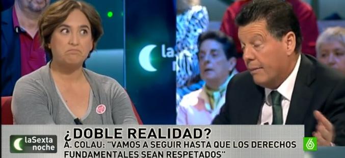 Captura de imagen de 'laSexta noche', Alfonso Rojo llama