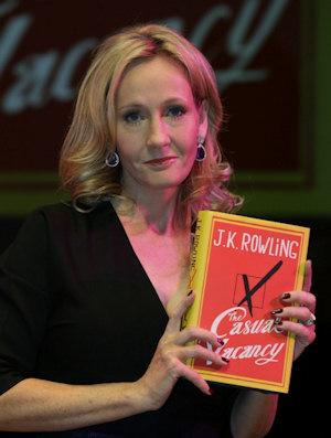 J.K. Rowling, escritora de