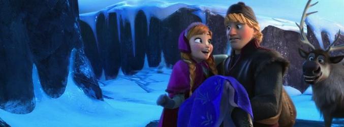 Anna y Kristoff en