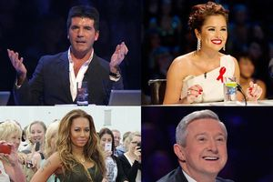 Los cuatro jueces de 'The X Factor UK'