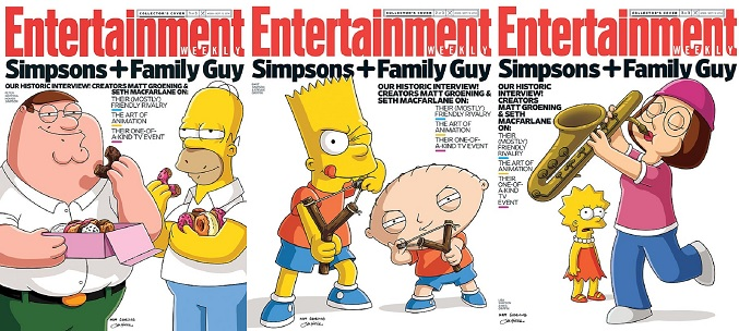 Las tres portadas de esta semana de Entertainment Weekly