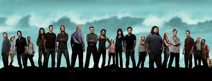 Parte del reparto de la sexta temporada de 'Perdidos'