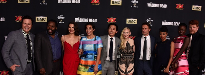 Première de la 5º temporada de 'The Walking Dead'