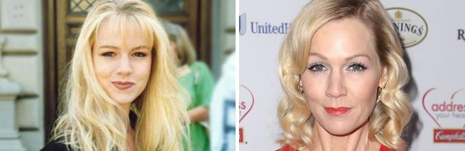 Jennie Garth, antes y ahora