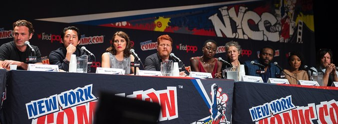 Asistentes a la Comic Con de Nueva York