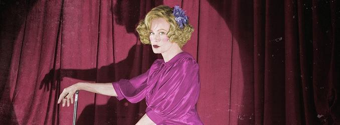 Jessica Lange es Elsa Mars, la dueña de un circo de los horrores, en 'American Horror Story: Freak Show'