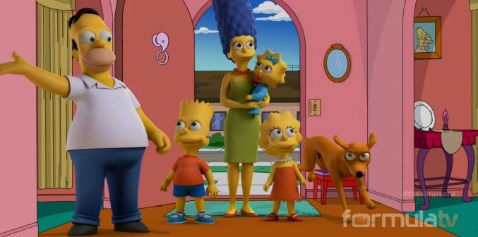 'Los Simpson' en animación real