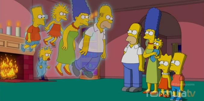 'Los Simpson' conocen a sus primeros bocetos