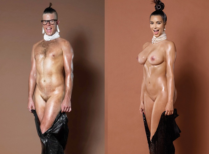 foto de artista desnuda: