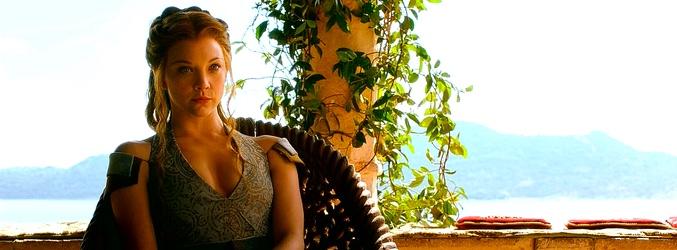 Natalie Dormer como Margaery Tyrell