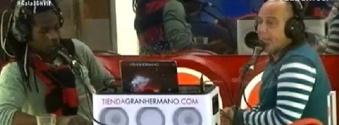 Victor y Coman en la radio de 'GH VIP'