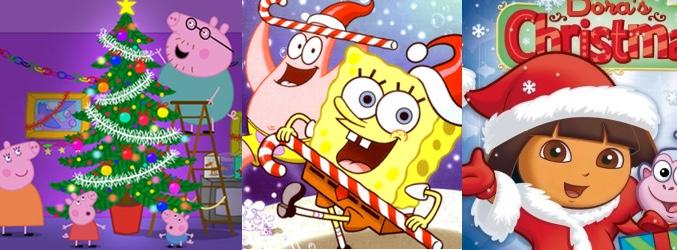 Navidad mgica en Clan con los Lunnis Piratas Peppa Pig y