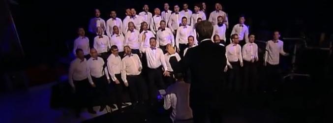 Coro de hombres gay de Maine