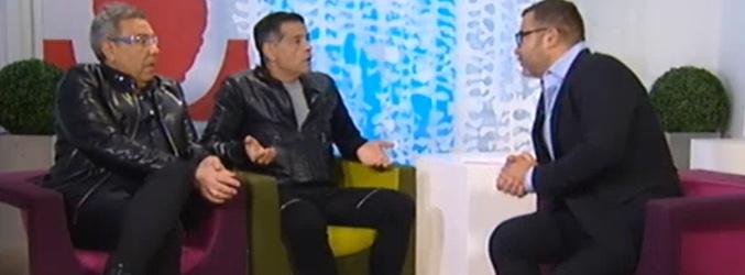 Los Chunguitos junto a Jorge Javier Vázquez