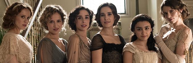 Las hermanas Silva, protagonistas de 'Seis hermanas'
