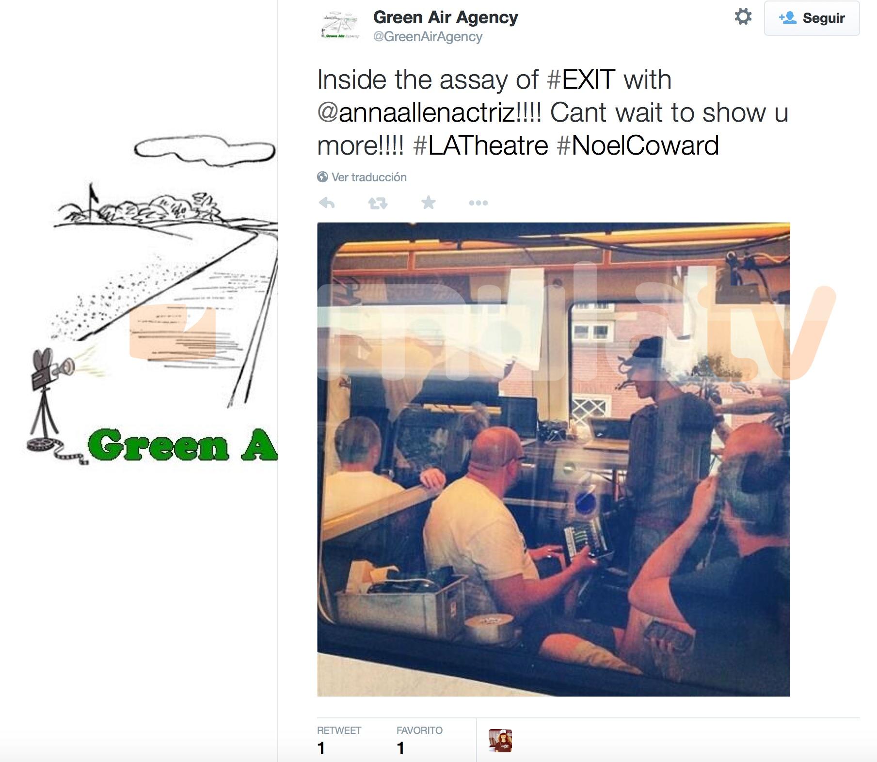 La agencia de Anna Allen, Green Air Agency, informa de los