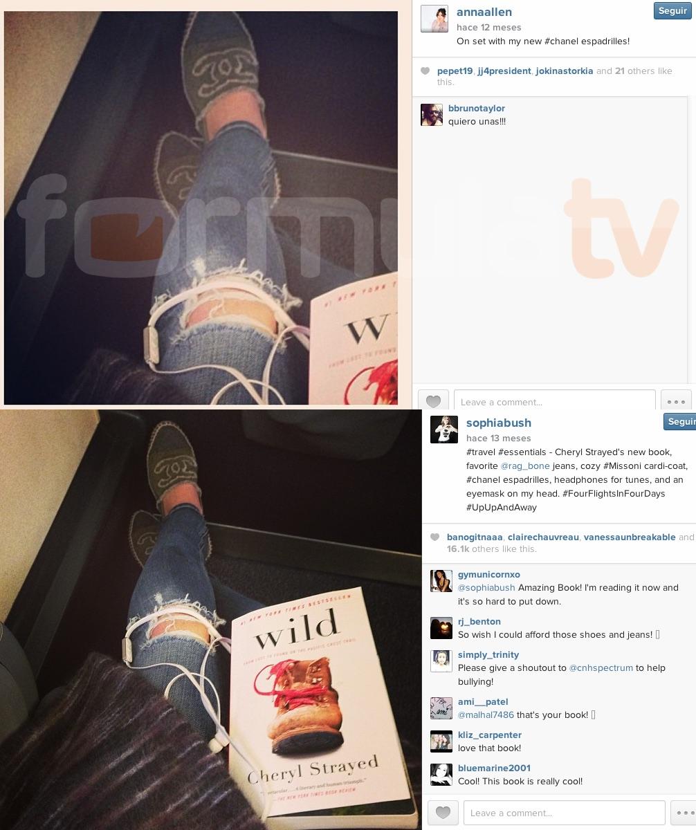 Anna Allen y las zapatillas de Chanel de Sophia Bush