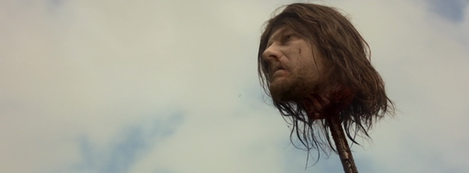 La cabeza de Ned Stark