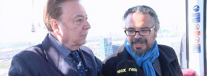 Fernando Costilla y Héctor del Mar en Londres con Neox