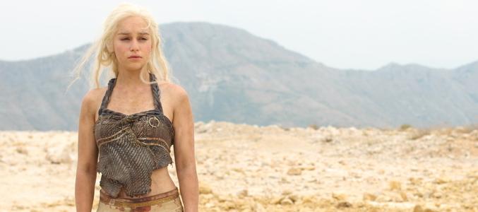 Emilia Clarke es Daenerys Targaryen en 'Juego de Tronos'