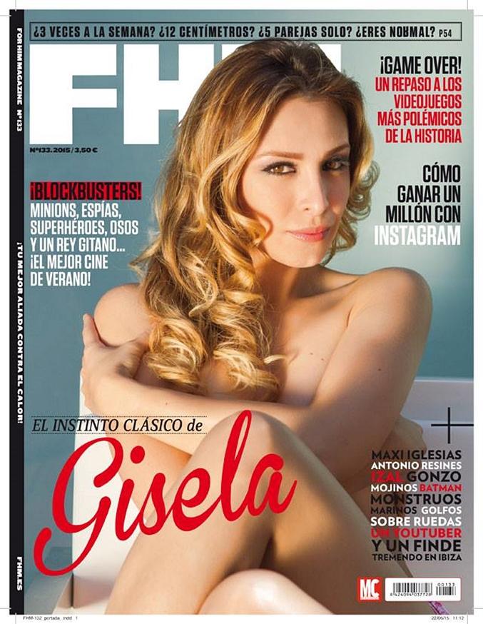 Gisela Muestra Su Lado Más Sexy En La Portada De La Revista Fhm