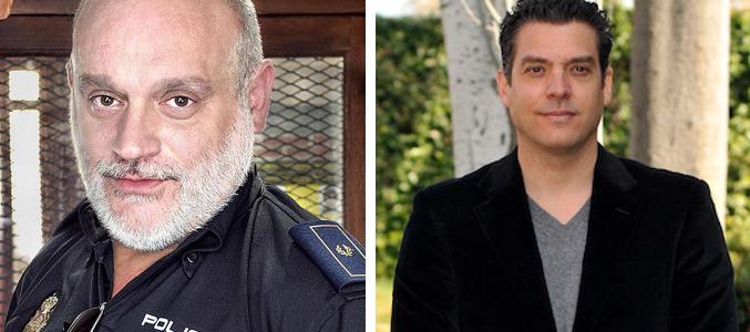 Juanma Lara y Javier Mora en el reparto de la cuarta temporada de 'Amar es para siempre'