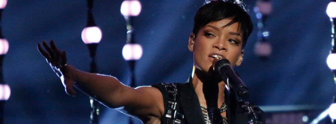 Actuación de Rihanna en la final de 'The Voice en 2012