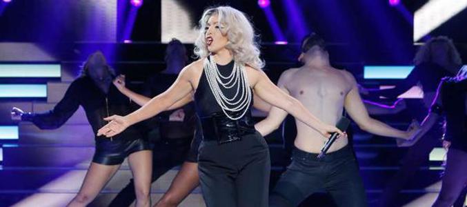 Ruth Lorenzo, como Lady Gaga, ganadora de la primera gala de 'TCMS'