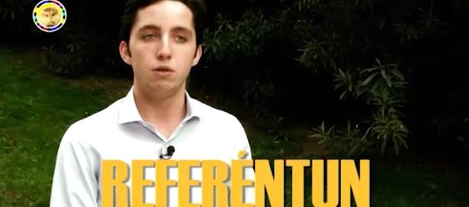 """Pequeno Nicolas Baño:Pequeño Nicolás en 'El Hámster': """"Cataluña no puede declarar la"""