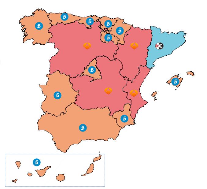 Telecinco cadena l der en 2015 por cuarto a o consecutivo for Telecinco fuera de espana
