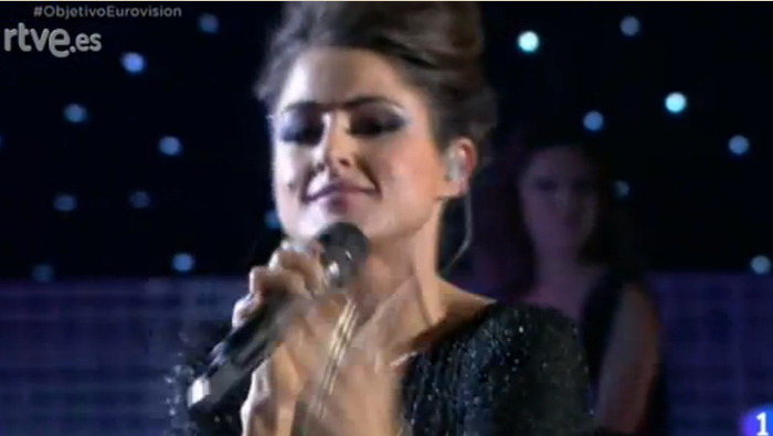 Barei canta en Objetivo Eurovisión